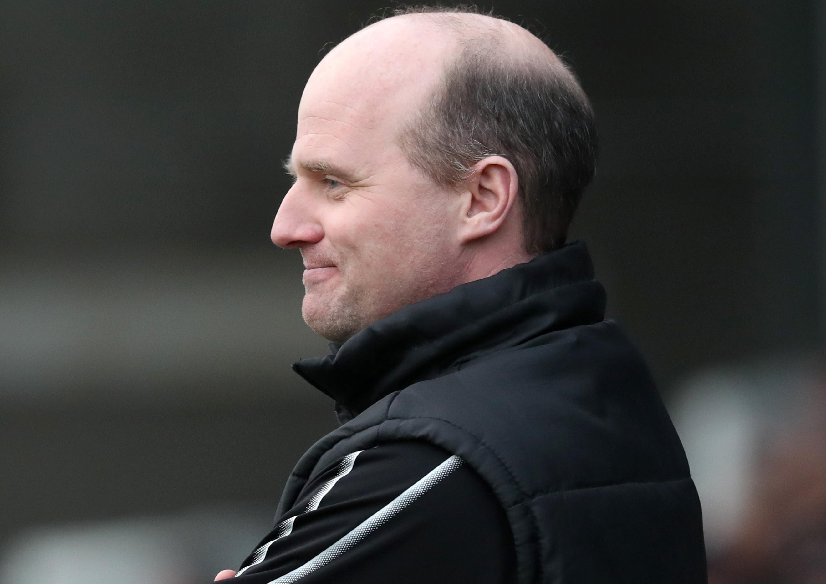 Barry Gray issues warning to Warrenpoint Town players
