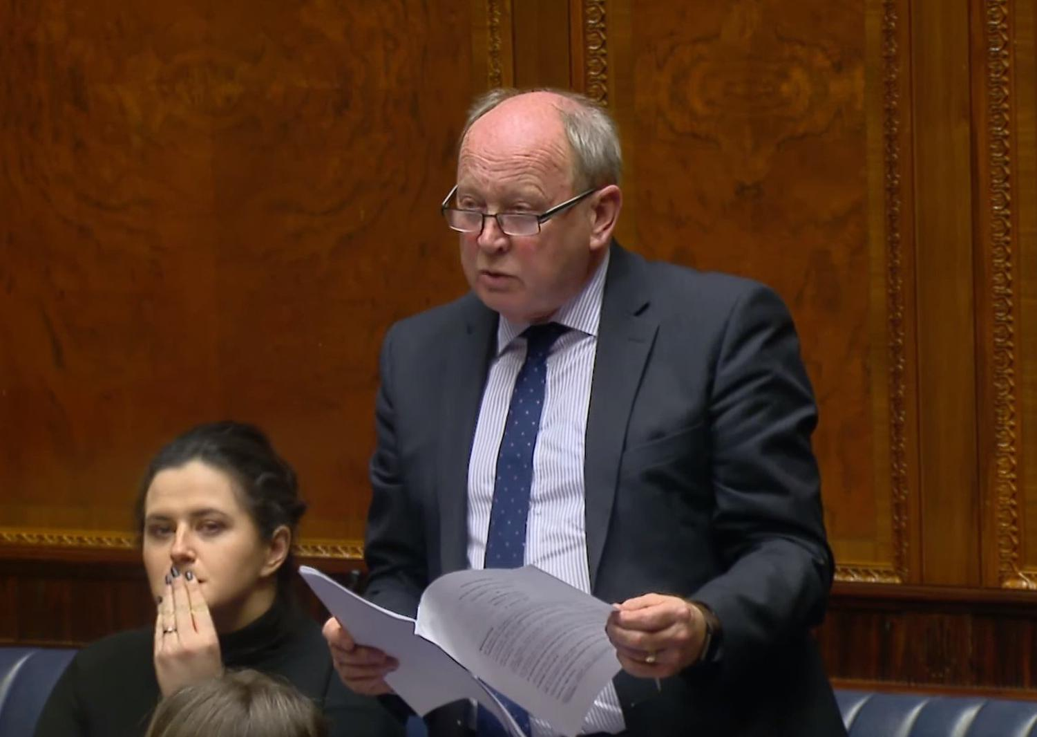 Jim Allister: Unionists seem set to empower a Bill of Rights for Northern Ireland, which will once again mark the Province out as different and a place apart
