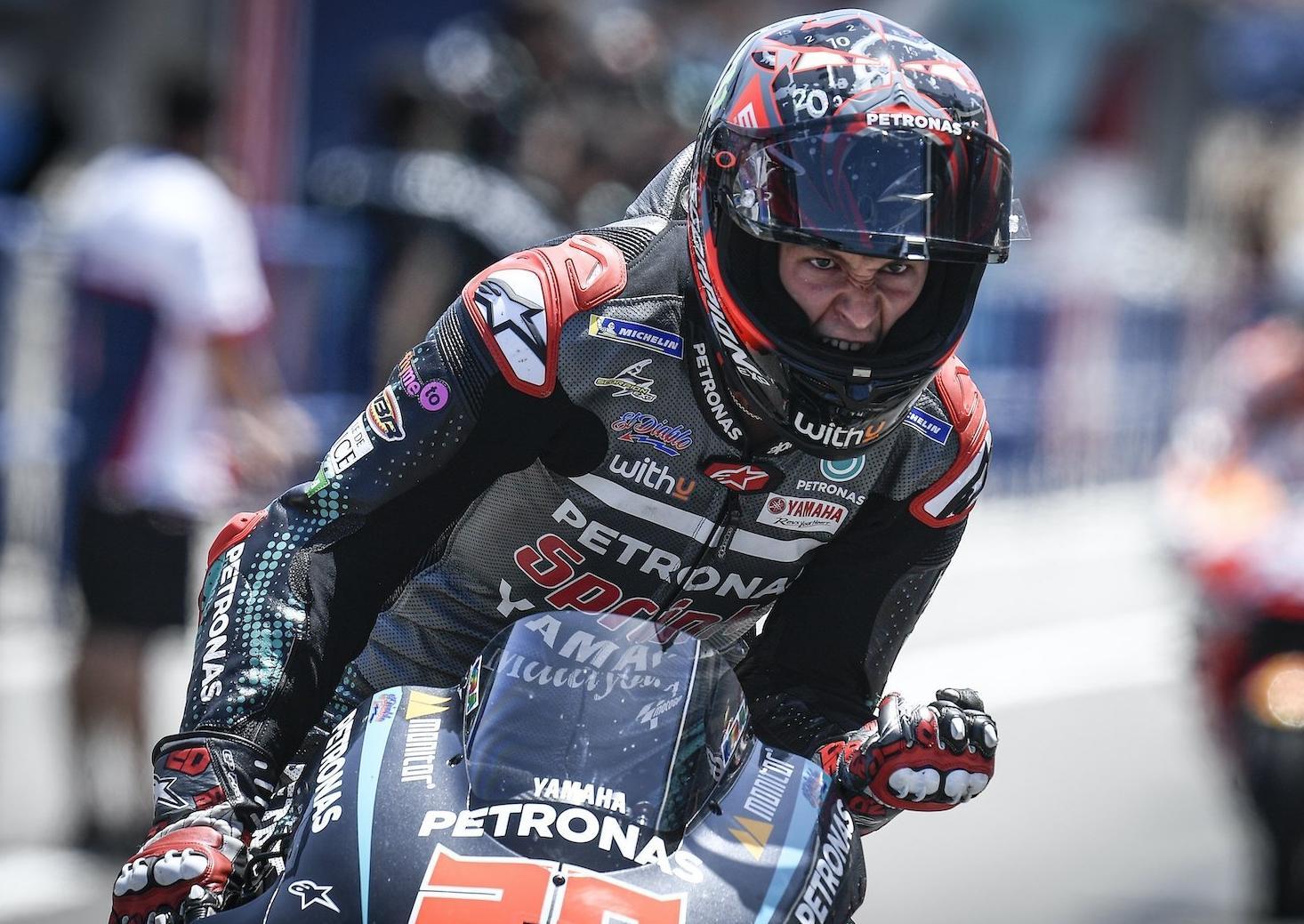 Maiden Motogp Victory For Fabio Quartararo At Jerez As Reigning Champion Marc Marquez Breaks Arm In Crash Belfast News Letter