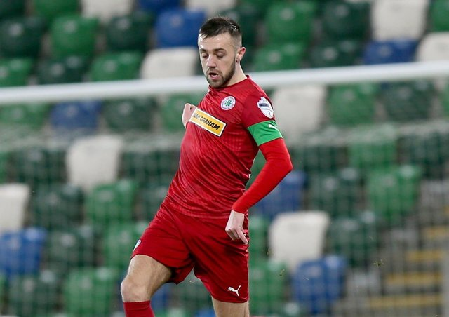 Big-game Conor McMenamin hoping for another day as Cliftontonville's man  for the main stage | Belfast News Letter