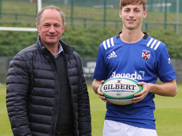 Ulster legend David Humphreys and his son James