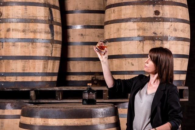 Alex Thomas, Master Blender of The Sexton Irish Single Malt Whiskey from Co Antrim