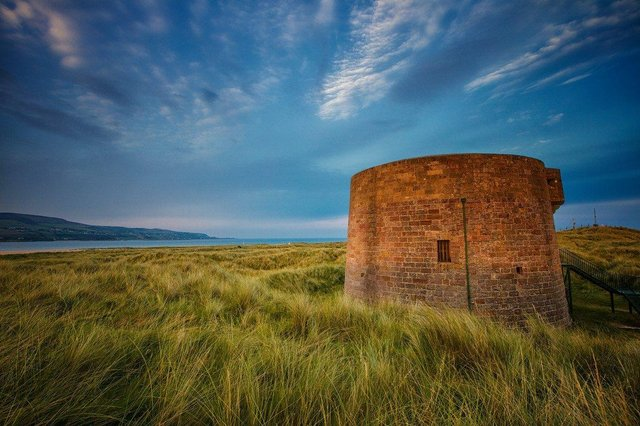 """Dr Montgomery  noted other interesting references to life at the Martello Tower at Magilligan Point. She said: """"In the 19th century there was apparently a cholera intercepting hospital established in close proximity to the Martello Tower."""""""