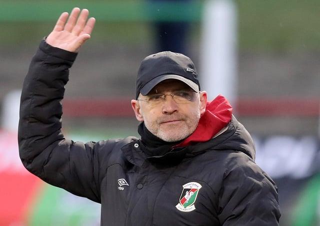 Mick McDermott draws on Glentoran pressure as driving force | Belfast News  Letter