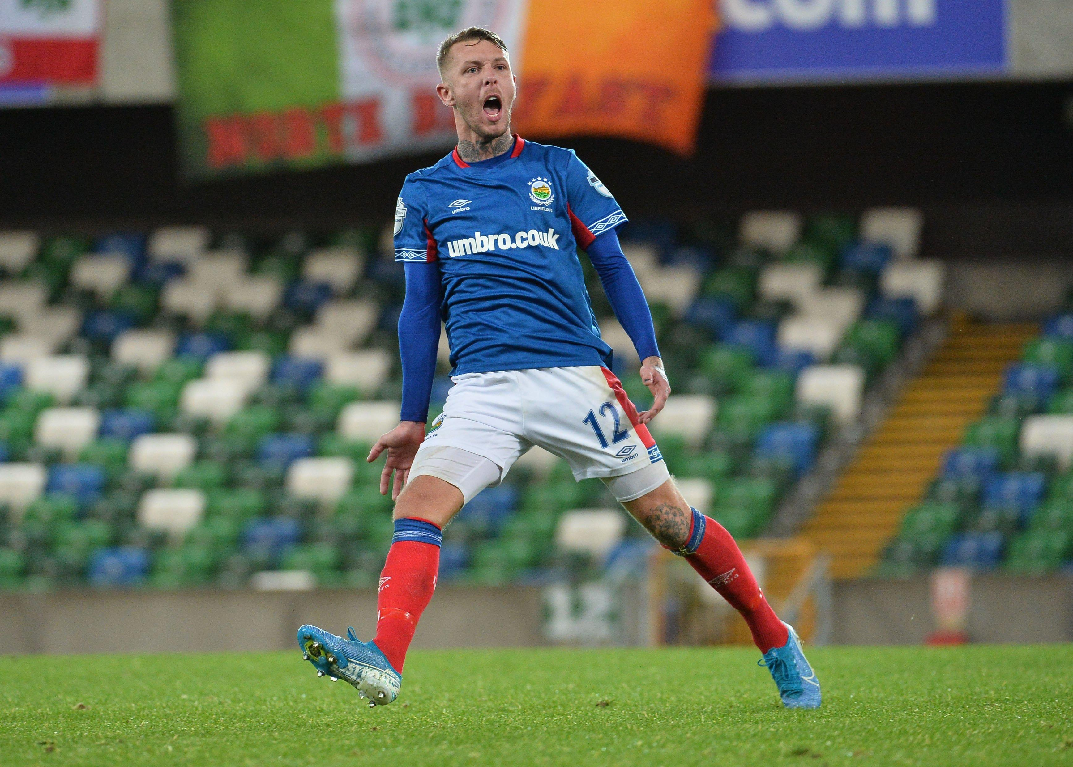 Kirk Millar on song for Linfield yet again | Belfast News Letter