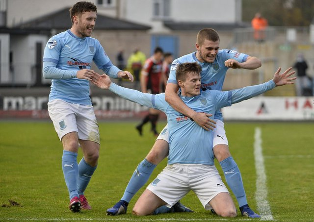 Paul McElroy back on track at Ballymena United | Belfast News Letter