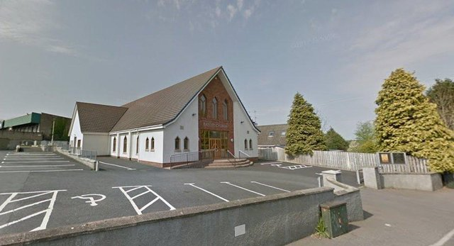 Tandragee Baptist Church, Co Armagh. Image: Google StreetView
