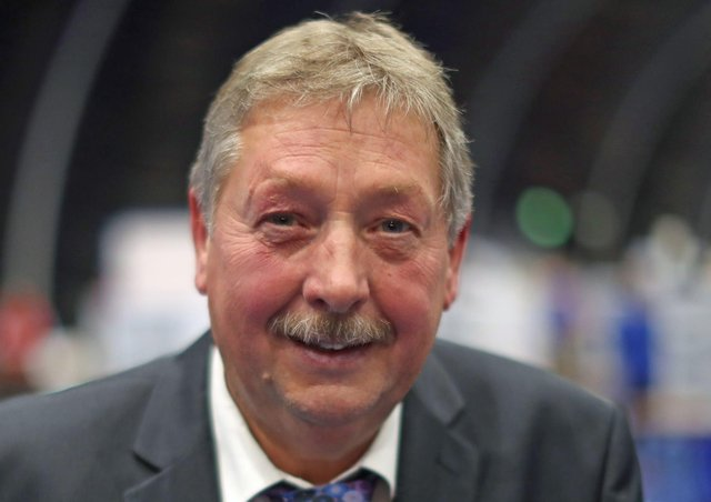 DUP MP Sammy Wilson has once again spoken out on climate change. Photo: Liam McBurney/PA Wire