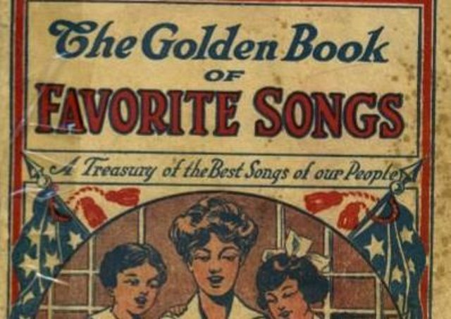 Happy Birthday to You published in The Golden Book of Favourite Songs. 1915