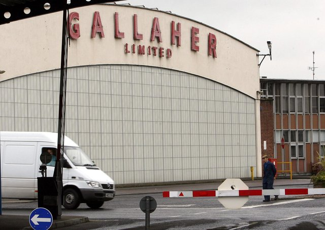 The Gallaher factory in Ballymena was one of the main employers in Northern Ireland