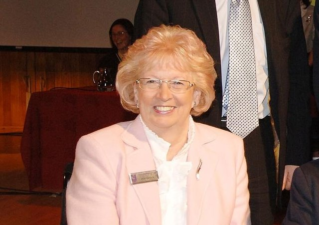 Celia Gourley OBE, MBE