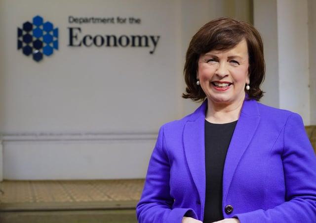 Economy Minister Diane Dodds. Photo:   Aaron McCracken