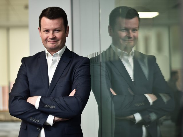 Founder and CEO of CompareNI.com, Greg Wilson  - TUFZMTI4ODY3Mjg3 - Demand for NI office space up by 23%