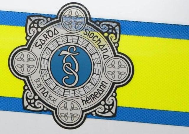 Garda crest as seen on a patrol car