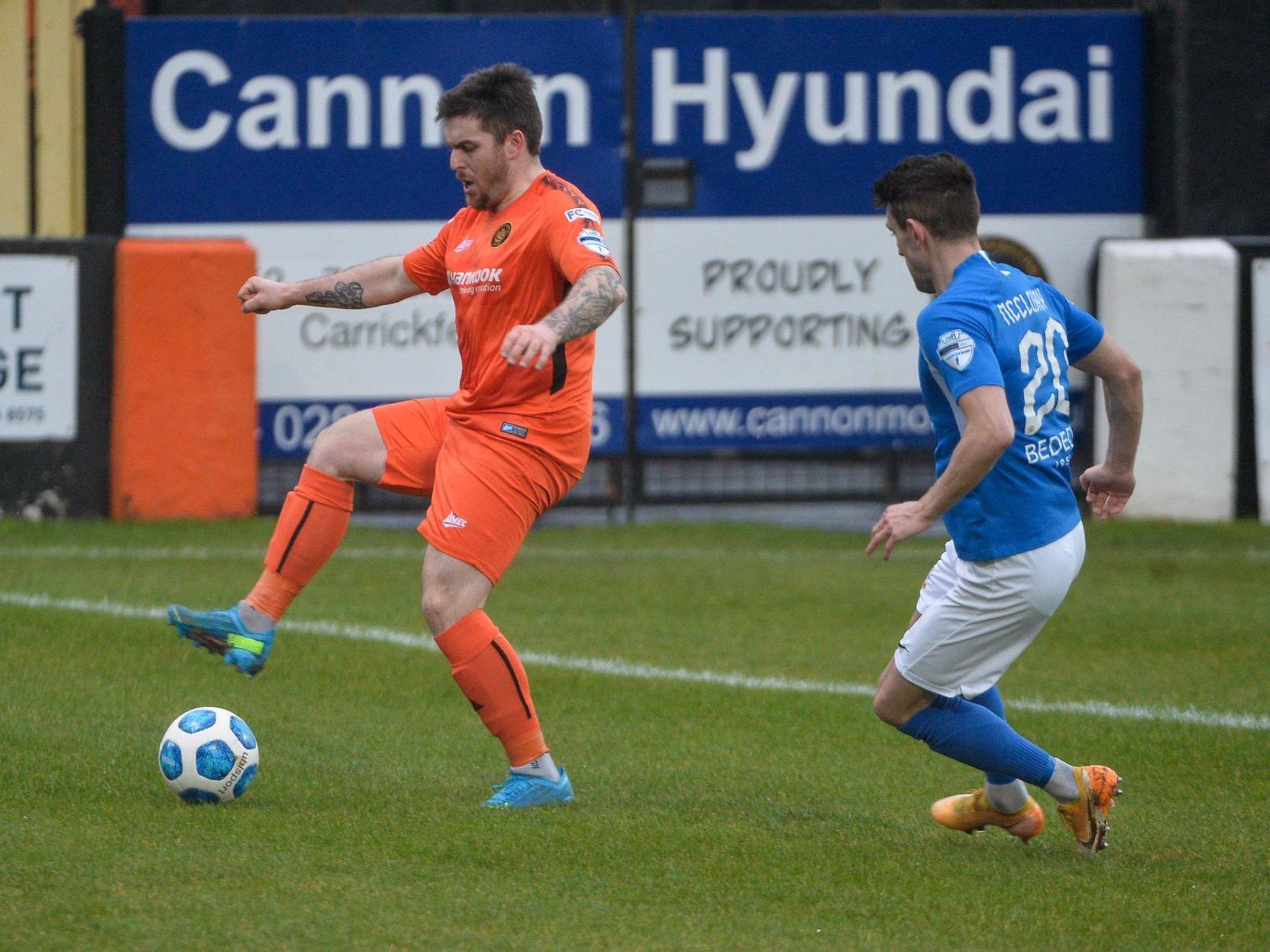 Cathair Friel set for lengthy time out as Carrick Rangers suffer striker  crisis | Belfast News Letter