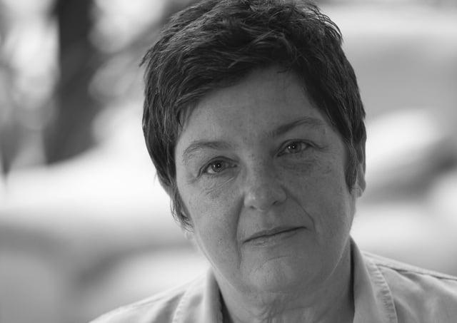 Feminist author and campaigner Julie Bindel