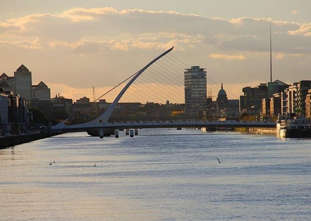 "Dublin, the Irish capital. ""The Republic's economy is the world's largest tax haven, a model increasingly opposed by the EU and OECD, writes Graham Gudgin. ""Its economic statistics tell us more about the tax affairs of American corporations than about the Irish economy"""