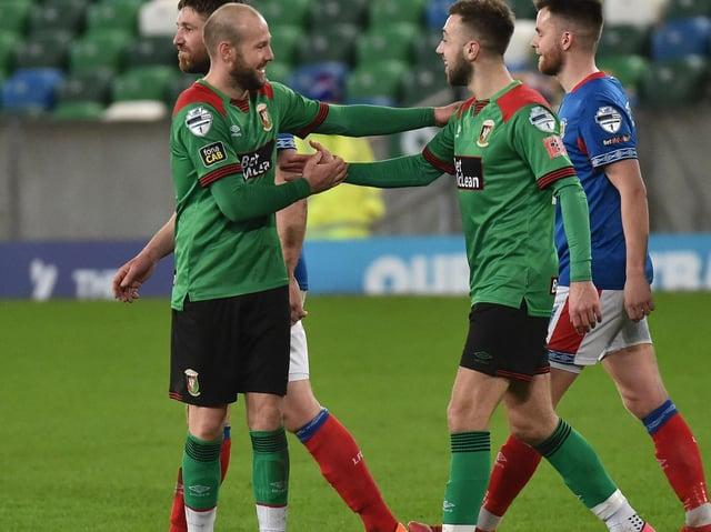 Conor McMenamin is the last-gasp hero for Glentoran | Belfast News Letter
