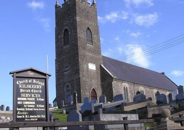 Kilskeery Parish Church of Ireland. Picture: Kenneth Allen/Geograph.org,uk