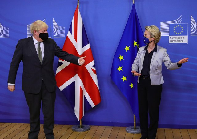 Boris Johnson and Ursula von der Leyen are angry with each other – and Northern Ireland is the proxy battleground for their dispute