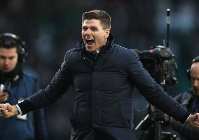 Rangers Steven Gerrard. Pic by Getty.