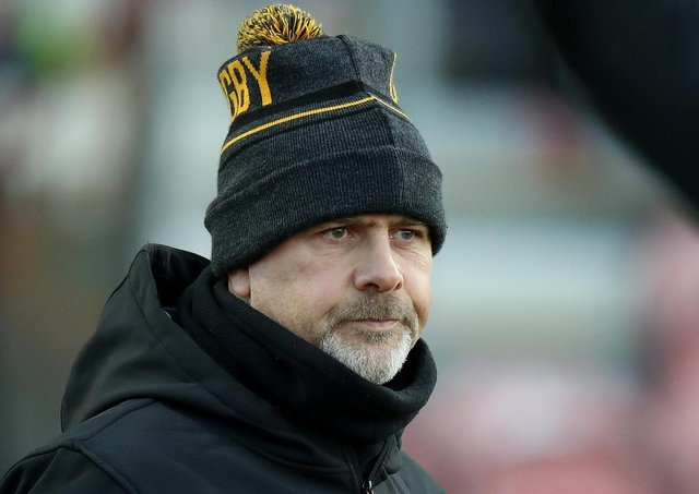 Ulster head coach Dan McFarland. Pic by Getty.