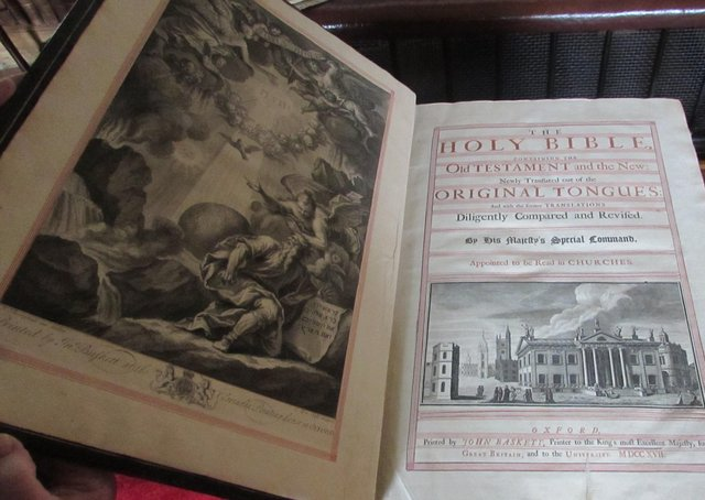 The Cole family bible. Picture: National Trust Images