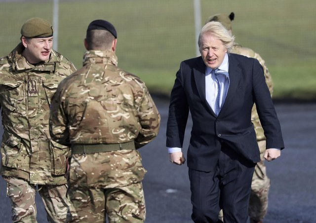 London, which commentators including Ben Lowry have accused of being weak over Northern Ireland, is taking a more robust line in defence of the Union. Boris Johnson's visit yesterday, meeting soldiers who are helping with Covid, was part of that
