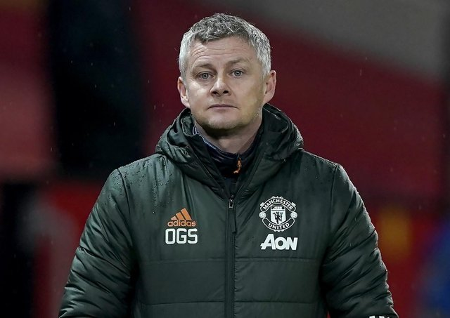 Manchester United manager Ole Gunnar Solskjaer. Pic by PA.