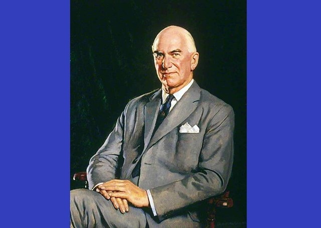 Lord Kaberry of Adel (1907-1991) - a portrait of Sir Donald,  painted by Edward Halliday and in the care of Leeds Teaching Hospitals NHS Trust