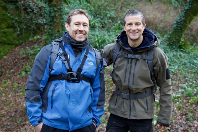 Jonny Wilkinson and Bear Grylls