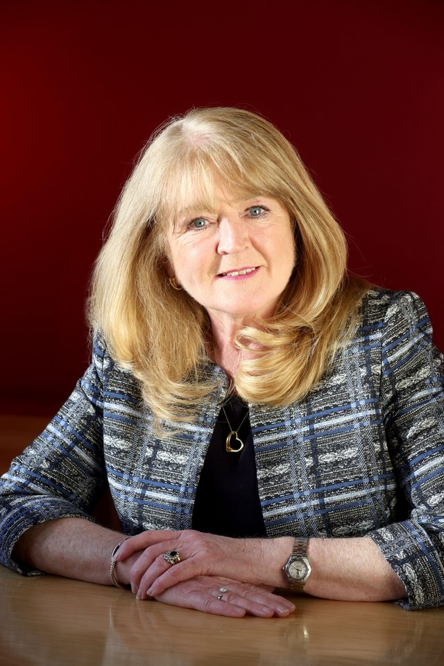 Geraldine McGahey, Chief Commissioner of the Equality Commission for Northern Ireland