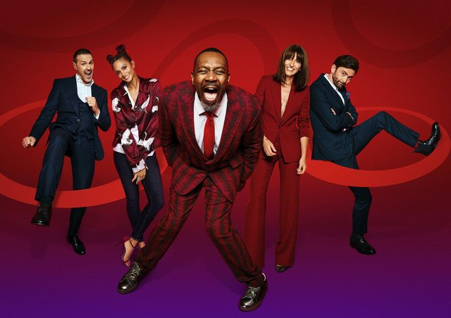 The Comic Relief 2021 Night of TV hosts are Paddy McGuinness, Alesha Dixon, Sir Lenny Henry, Davina McCall and David Tennant