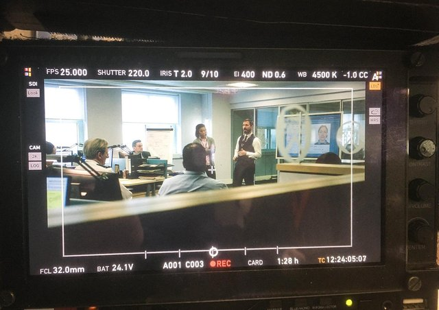 Filming begins on series six of Line Of Duty. (C) World Productions - Photographer: World Productions