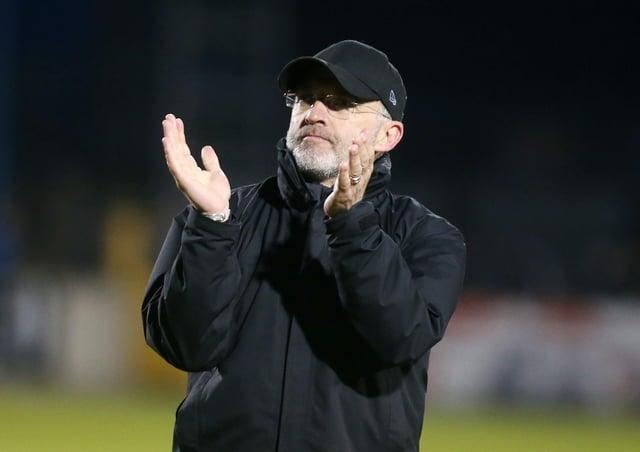 Glentoran manager Mick McDermott has apologised. ©INPHO/Jonathan Porter