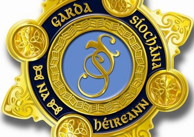 An Garda Siochana badge.