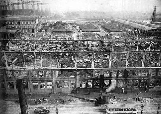 """Belfast Corporation intended to """"take up to challenge"""" of Mr William Grant, the Northern Ireland Health Minister, to build houses and flats on bombed sites in the city, reported the News Letter on this day in 1949. Picture: News Letter archives"""