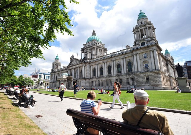 Belfast City Hall pictured in June 2010. Picture: Colm Lenaghan/Pacemaker