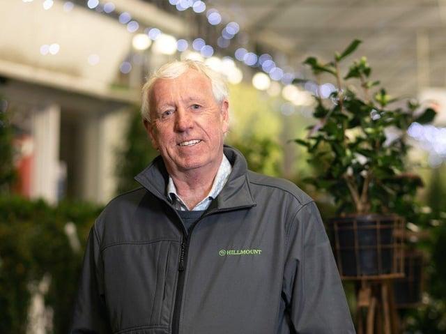 Robin Mercer, owner of Hillmount