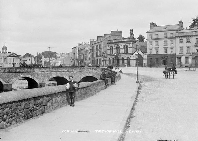 Trevor Hill, Newry, Co Down. NLI Ref.: EAS_1432. Picture: National Library of Ireland