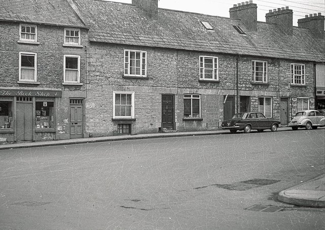 Barrack street, Armagh, pictured in 1964