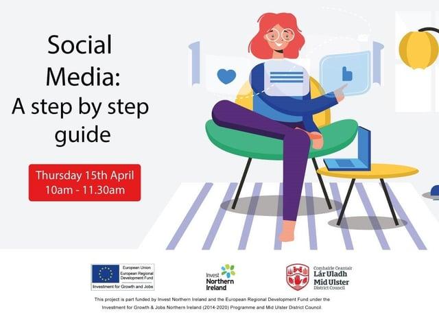 Second webinar 'Social Media: A step by step guide'