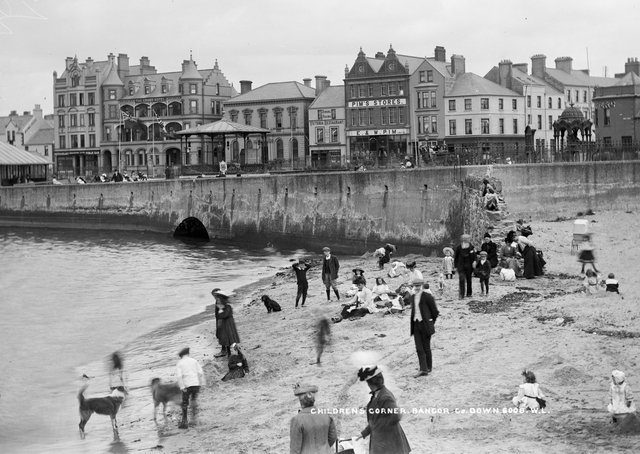 Bangor in Co Down, NLI Ref: L_CAB_06008. Picture: National Library of Ireland