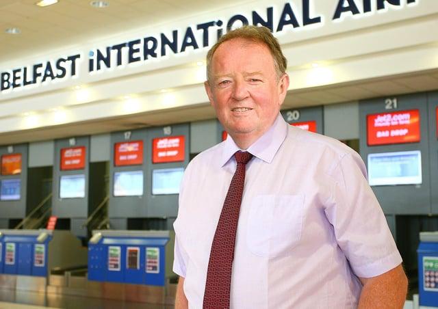 Graham Keddie, Managing Director, Belfast International airport.