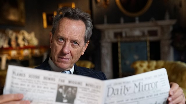 The documentary is presented by Richard E Grant