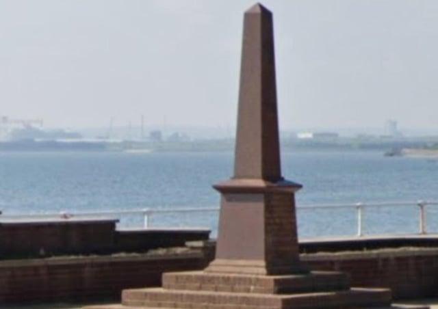 Whiteabbey War Memorial. Pic courtesy Google Streetview
