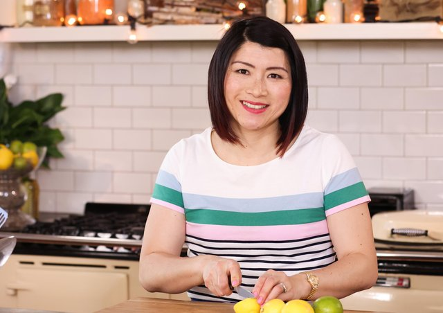 Home cooking star Suzie Lee