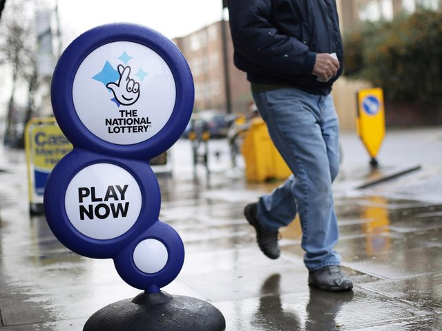 The £1m ticket was bought in Belfast