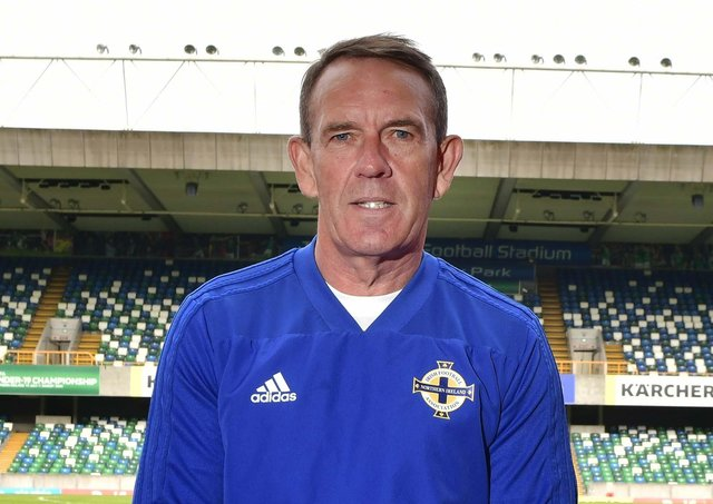 Northern Ireland senior women's team manager Kenny Shiels. Pic by Pacemaker.