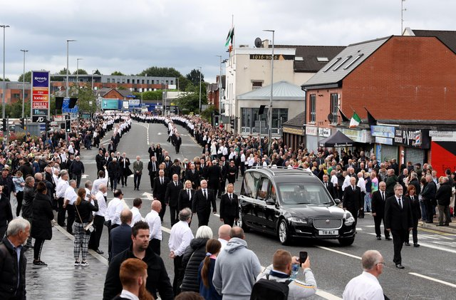 The PPS directed no prosecutions for anyone attending the funeral of Bobby Storey